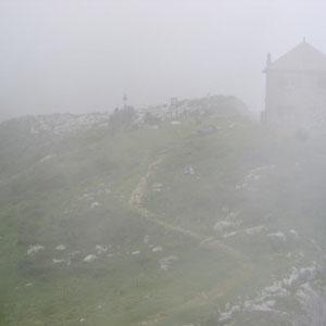 Tournette : refuge de la Tournette - AU BOUT DES PIEDS