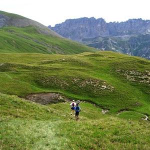 SkyRace : descente du Galibier - AU BOUT DES PIEDS
