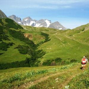 SkyRace : col du Lautaret et massif de la Meije - AU BOUT DES PIEDS