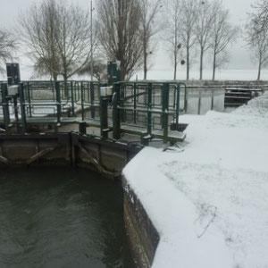 Rando cyclo, l'Ourcq : l'ecluse (Fresne-sur-Marne) - Au Bout des Pieds