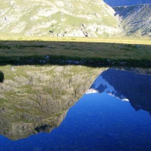 UTMB 2008 : lac Combal - AU BOUT DES PIEDS
