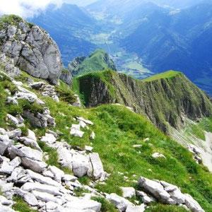 Trélod ( Bauges, 73) : vers le col du Frêne - AU BOUT DES PIEDS