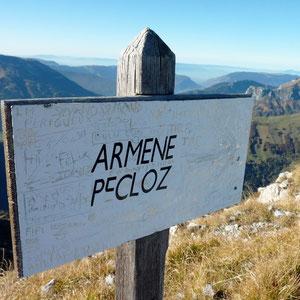 Pécloz (Bauges, 73) - AU BOUT DES PIEDS