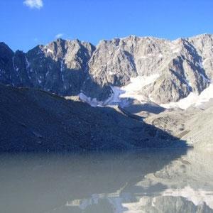 Ecrins : glacier d'Arsine - AU BOUT DES PIEDS