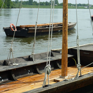 Loire à vélo : de Tours à Orléans : Chaumont sur Loire - Au Bout des Pieds