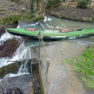 barrage du Petit Moulin - AU BOUT DES PIEDS