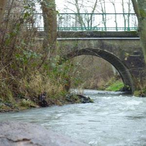 pont de Chatillon-sur-Morin - AU BOUT DES PIEDS