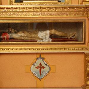 Actual hornacina del Cristo Yacente.