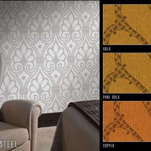 Артикул: Sheet Steel Состав: Тревира на флизелиновой основе Ширина: 100 см Длина: 280 см