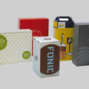 Offset Kaschierte Verpackungen aus Wellpappe