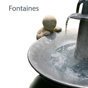 Fontaines d'artiste, créations originales