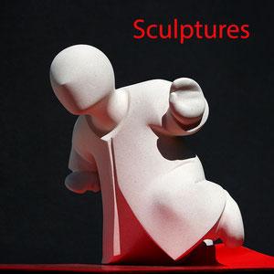 Darlou-sculptures contemporaines figuratives