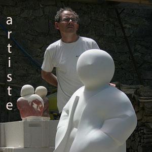 Hervé LOUAIL dit DARLOU-artiste contemporain français