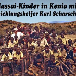 In Kenia arbeitet Bruder Karl Scharschmidt als Entwicklungshelfer bei den Massai. Auch er wird von uns gelegentlich unterstützt.