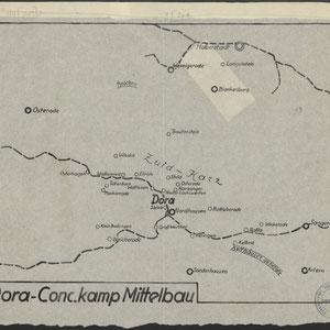Dora-Mittelbau met satellietkampen