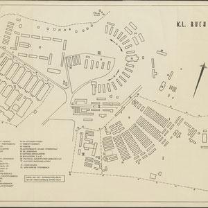 Plattegrond Buchenwald - Copie van het Informatiebureau van het Nederlandsche Roode Kruis