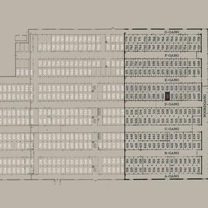 Plattegrond Oranjehotel cellenblokken