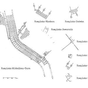 Dora-Mittelbau tunnelstelsel in vergelijking met andere tunnelstelsels
