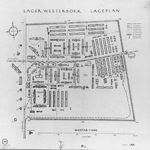 Plattegrond Kamp Westerbork
