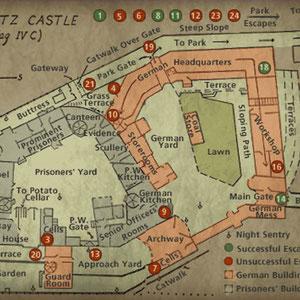 Plattegrond Schloss Colditz