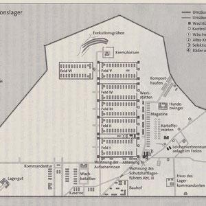 Plattegrond Majdanek