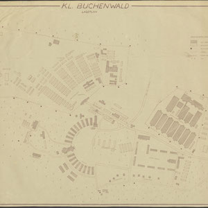'KL Buchenwald, Lagerplan', 17 februari 1950