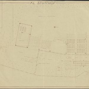Plattegrond Stutthof 3 februari 1950