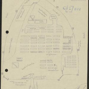 Schets van het concentratiekamp Buchenwald, 'Buchenwalde'