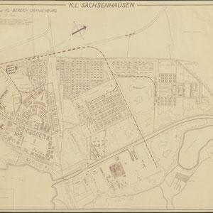 SS Standort und KL Bereich Oranienburg, KL Sachsenhausen 1950