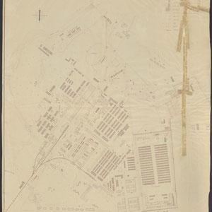 Lageplan der SS Anlagen in Dachau