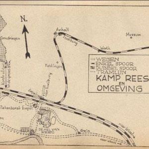 Kamp Rees en omgeving