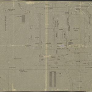 Plattegrond Kamp Amersfoort 12 mei 1948