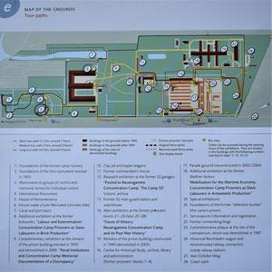 Overzicht kampterrein Neuengamme