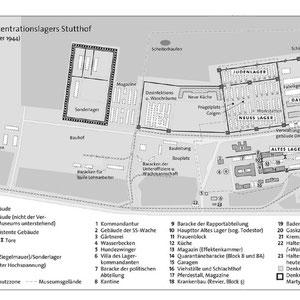 Plattegrond Stutthof dec 1944