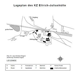 Plattegrond Ellrich en omgeving