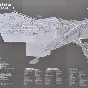 Plattegrond Dora-Mittelbau