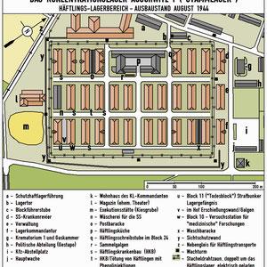 Plattegrond Auschwitz I