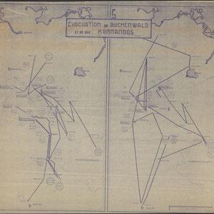 Evacuatie van Buchenwald en zijn subkampen