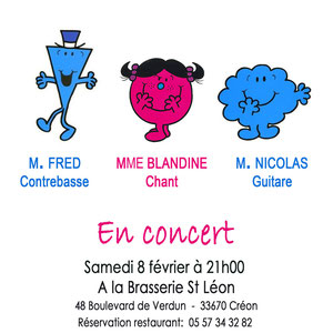 """Réalisation: Blandine (illustrations: livres pour enfants """"Monsieur"""" et """"Madame"""" )"""