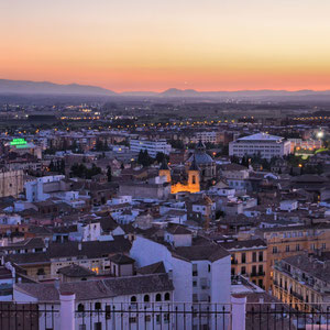 """Glowing City"" 