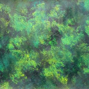 """""""Farbrausch 3"""" Acrylmalerei, 59x 42cm, 2012"""