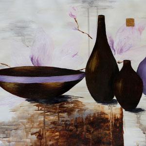 """""""Stillleben"""" Acrylmalerei, 42 x 59cm, 2011"""