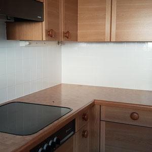 Malerarbeiten Küche Plattenanstrich