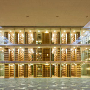 Oberverwaltungsgericht Münster - Bibliothek / Brandschutzfassade
