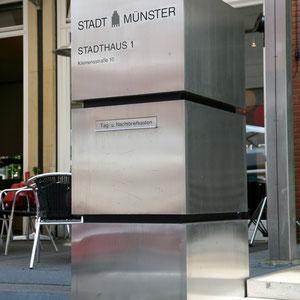 Stadt Münster - Briefkatsenanlagen
