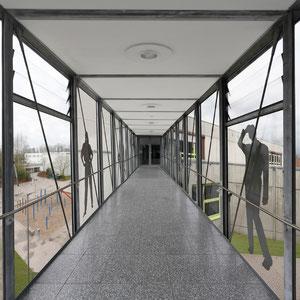 Schulzentrum Münster-Roxel - Verbindungsbrücke