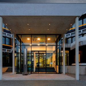 KZV - Fassade Eingangsportal