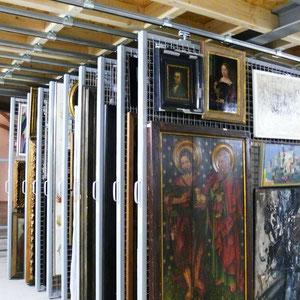 LWL-Museum - Stahlkonstruktion zur Archivierung von Kunstwerken