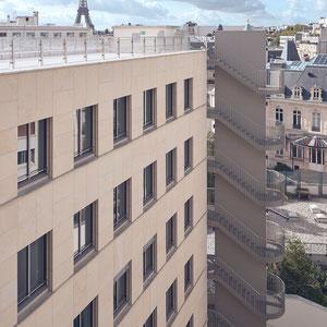 Botschaft der Bundesrepublik Deutschland Paris - Treppengeländer, Brandschutztüren