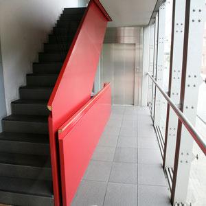 Münzstraße Münster - Fassade / Treppen